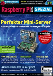 Cover Raspberry Pi Geek Spezial 01/2017